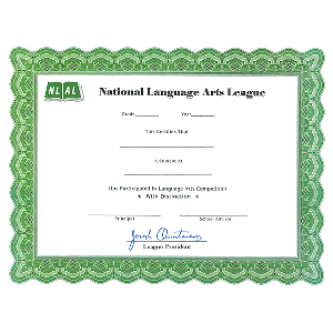 NLAL Certificate