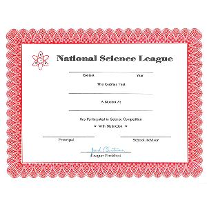 NSL Certificate
