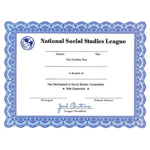 NSSL Certificate